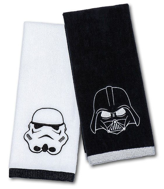 Star Wars Darth Vader & Stormtrooper Hand Towel Set