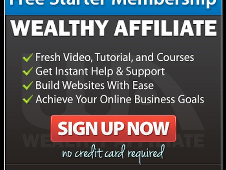 Wealthy Affiliate, everything you need all in one place for FREE. No more endless hours searching for the information! That's right for Free, Free WordPress websites , Free training on how to build a website, free training on affiliate marketing and free social network where thousands of like-minded people from beginner to expert are there to help you. All on one site and for Free.