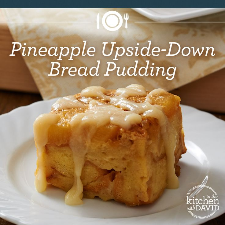 Try my Easter friendly recipe for Pineapple Upside-Down Bread Pudding.