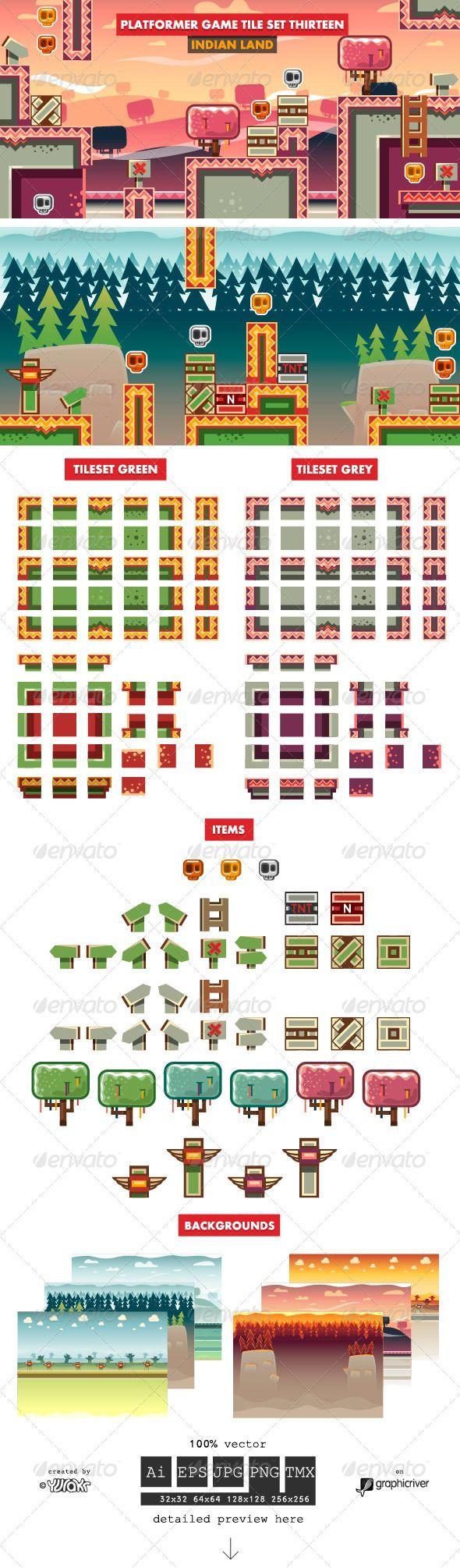 +Platformer+Game+Tile+Set+Thirteen