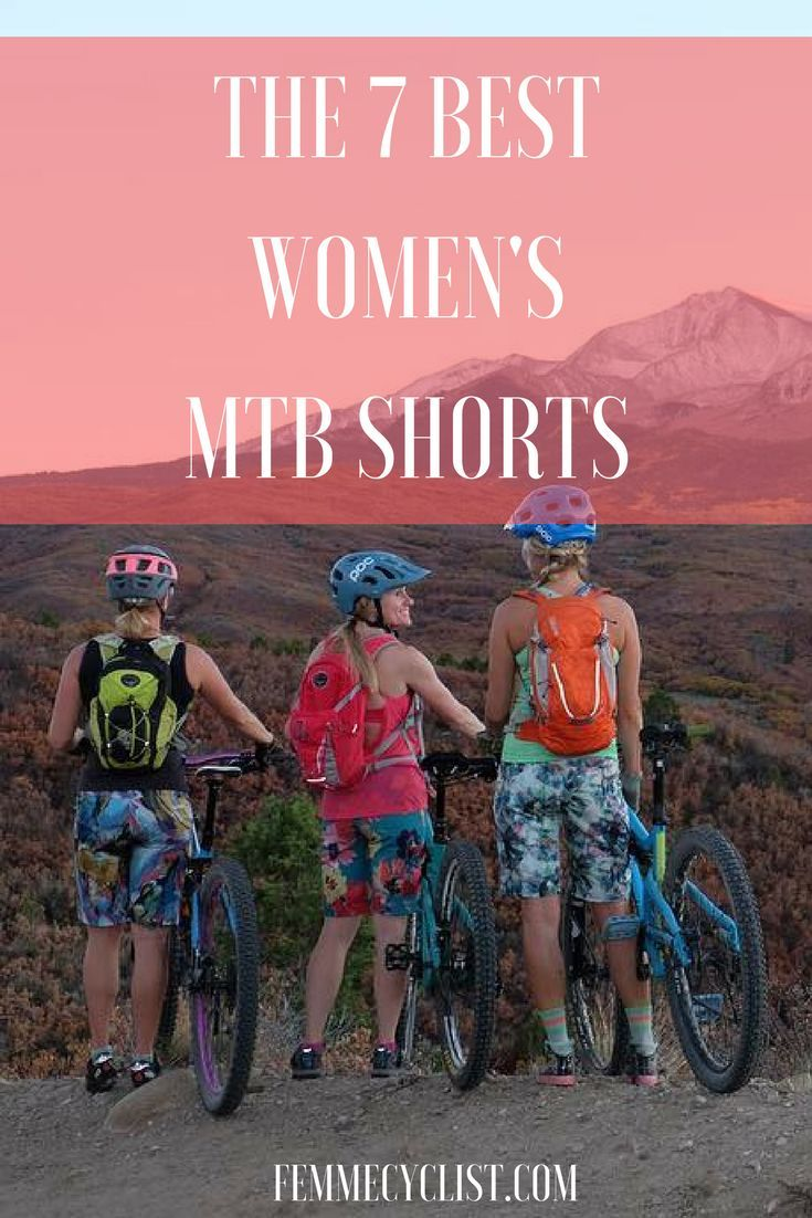 7 Best Women S Mountain Bike Shorts Mountain Biking Gear