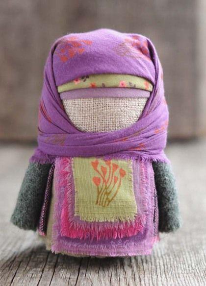 """Народные куклы ручной работы. Ярмарка Мастеров - ручная работа Крупеничка """"...сквозь туманы"""". Handmade."""