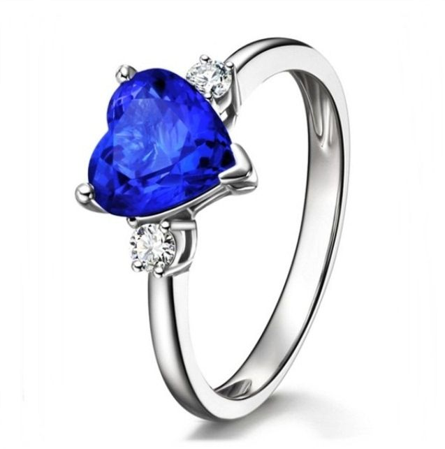 Create Your Own Gemstone Engagement Ring With Blue Sapphire