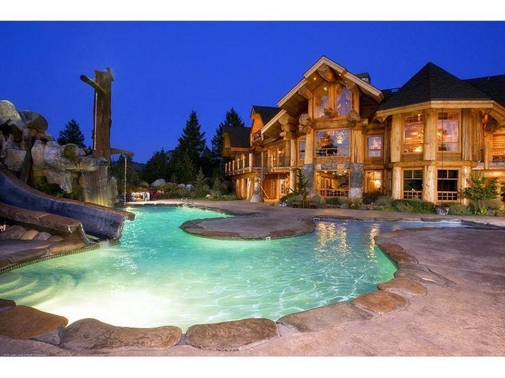 132 Best Log Homes Images On Pinterest