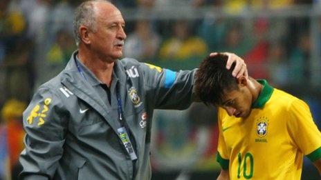 Brazil team of 2013 can be greats, says Luiz Felipe Scolari