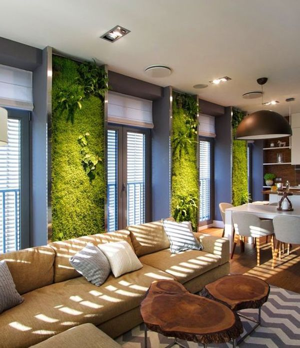 20 Fresh And Natural Moss Wall Art Decorations