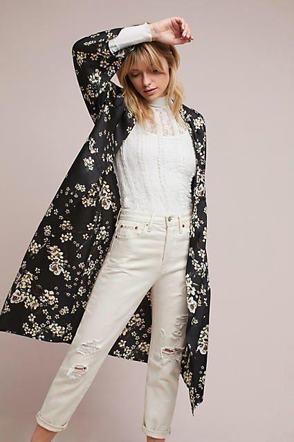 RIYA Wildflower Long Kimono #ad