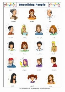 Flashcards - How to describe people