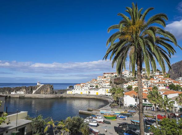 Secluded paradise meets adventurer's dream: Is this Portugal's best kept secret? - via Express 24-09-2016 | MADEIRA is best known for its pristine waters and internationally recognised wine. But this tropical island paradise is still holding a few cards close to its chest. Photo: Fishing village of Camara de Lobos