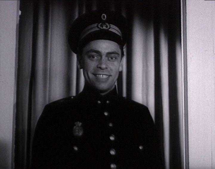 som Betjent, i Solstik fra 1953.