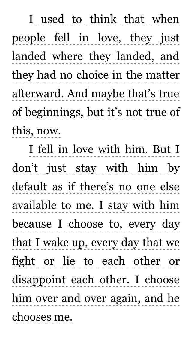 Favorite quote by far❤️❤️❤️. From book in Divergent series, Allegiant. Book by Veronica Roth