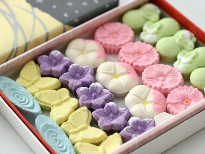 OHIGASHI (Japanese handmade confectionery) - from Hibiki-an
