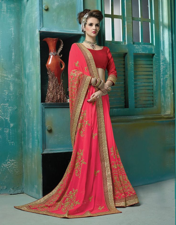 Image result for Impress Everyone With Wearing The Beautiful Lehenga Choli And Designer Sarees
