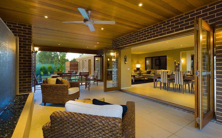 Denver Outdoor Room 3, New Home Designs - Metricon