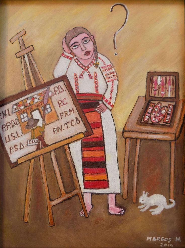 Pictura naiva | Intrebare | Boutiq Art