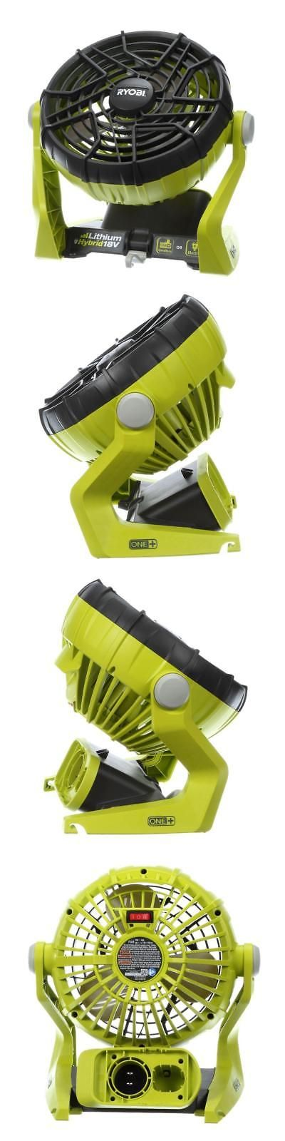Portable Fans 20612: Hybrid Portable Fan 18 Volt Cordless Battery Power Operated Jobsite Tool Shop -> BUY IT NOW ONLY: $52.5 on eBay!