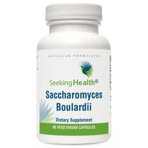 Saccharomyces Boulardii - 60 Vegetarian Capsules - Seeking Health