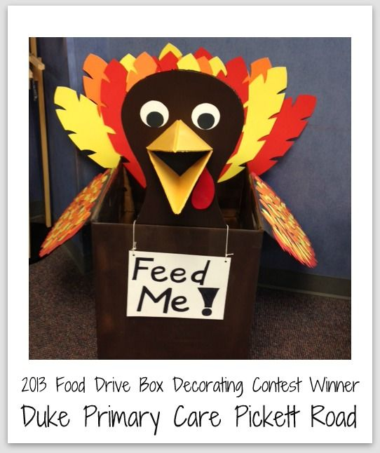 canned donation drive box ideas - Google Search