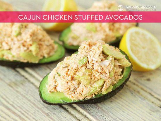 Make It: Cajun Chicken Stuffed Avocado