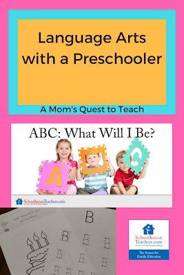 Language Arts with a Preschooler