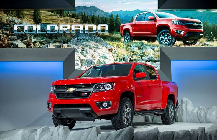 New Chevy Colorado! They are so cool looking!