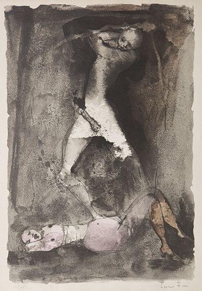 Leonor Fini histoire d' O illustration
