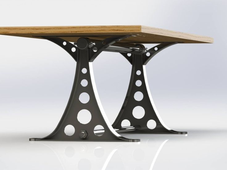 O Frame Industrial Dining Room Table Or Desk For The Office.