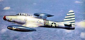 Republic F-84G Thunderjet Avion utilisé 1953-1954