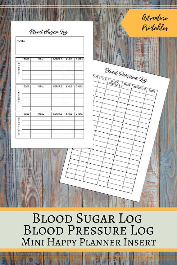 Blood Sugar Log and Blood Pressure Log for the Mini Happy Planner, Health Tracker, Diabetic Tracker, Mambi Planner, Create 365  ▶WHAT IS INCLUDED  You will receive 1 ZIP file that contains:  1 Page Weekly Meal Planner: Blood Pressure Log Insert design - 1 PDF File Blood Pressure Log Insert design - 2 JPG files Blood Pressure Log Insert for printing on A4 - 1 PDF File Blood Pressure Log Insert for printing on A4 - 1 JPG File Blood Pressure Log Insert for printing on Letter Size- 1 PDF File  2…
