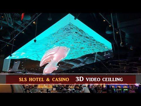 Las Vegas SLS Hotel, 3D Video Ceiling  Center Bar - YouTube   Lost