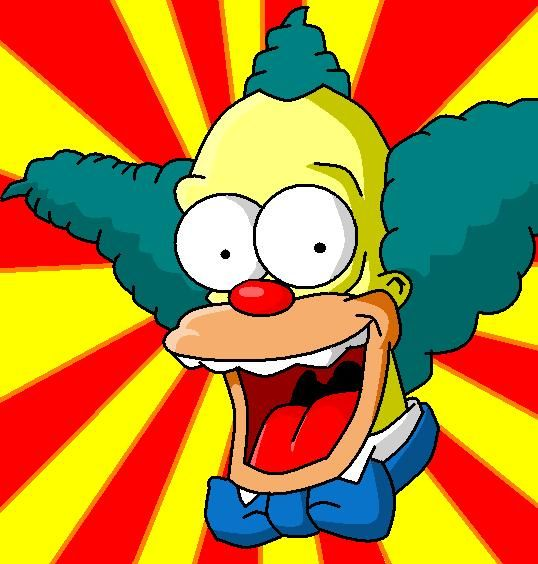 Krusty the clown costume clowns pinterest krusty the clown homer simpson and simpsons party - Simpson le clown ...