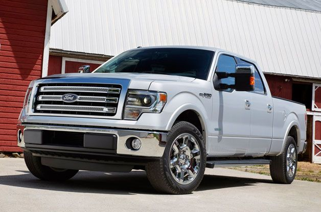 2013 Ford F-150 debuts with slight enhancements: I want a pick up so badly soo i can feel tall! :P