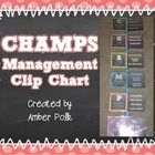 Do you use PBIS or CHAMPS Strategies at your school? This clip chart is a great way to manage CHAMPS in your classroom.   1. Simply print, laminate...