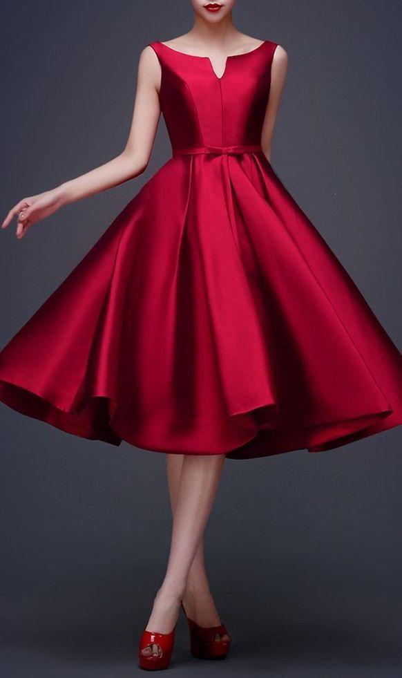 51 besten rote kleider bilder auf pinterest rote kleider. Black Bedroom Furniture Sets. Home Design Ideas