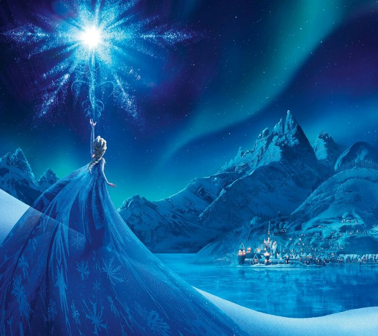 Frozen  Absolutely stunning  By Thomas kinkade                                                                                                                                                                                 More