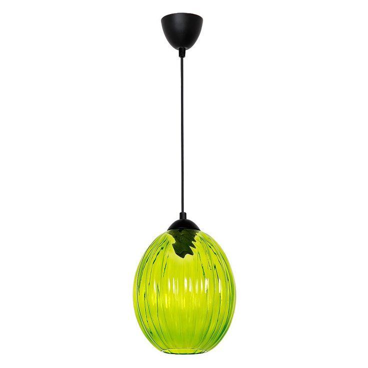 Hängeleuchte in Limette Schwarz 1x E27 bis zu 60 Watt 230V aus Glas & Metall Küche Esszimmer Pendelleuchte Hängelampe Pendellampe innen: Amazon.de: Beleuchtung