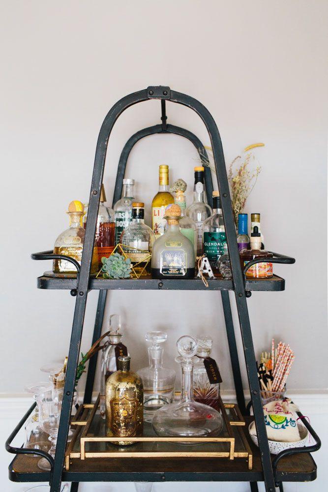 Bloggers and bar carts galore!