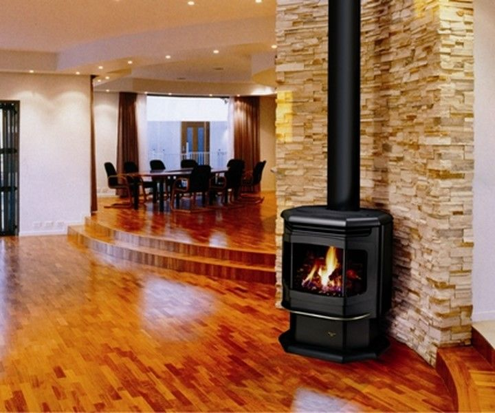 Free standing ventless gas fireplace hairstyles for Free standing fireplace