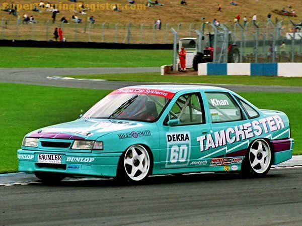 Ian Khan Donington Park Dtm 1993 In 2021 Opel Vectra Touring Car Racing Vauxhall