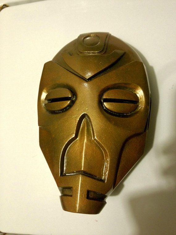 LifeSize Skyrim Krosis Dragon Priest Mask by Morphen on Etsy, $49.99