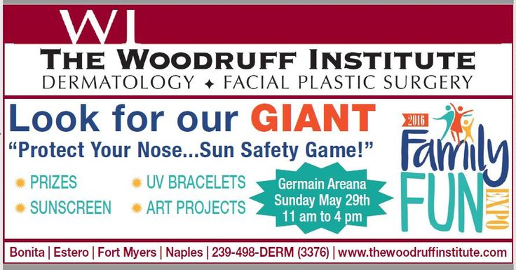 Looking for something FUN to do this weekend? Join us at Germain Arena for the Family Fun Expo! Look for our GIANT Protect Your NOSE... Sun Safety game! Sunday, May 29th 11am to 4pm http://germainarena.com/2016/05/family-fun-expo/…