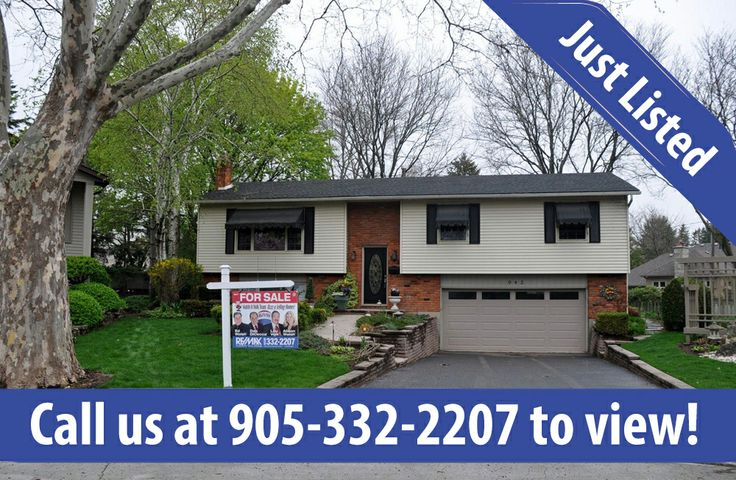 943 Nora Drive in  Burlington listed at the new price of $649,900! Contact the Walsh and Volk Team today to book a showing 905-332-2207