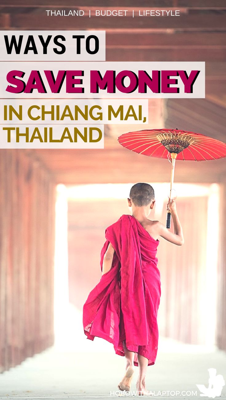 Living in Chiang Mai, Thailand is already cheap enough but you can live way cheaper if you're conscious. Here are 20 ways to save more money while living in Chang Mai: http://hobowithalaptop.com/save-money-thailand