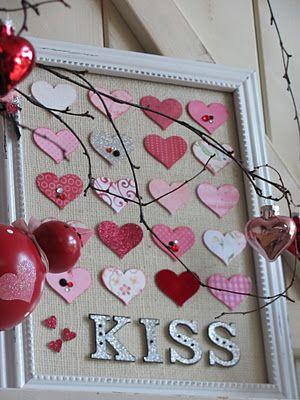 39th Street Cottage: Valentine Mantel 2012