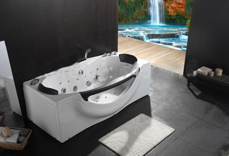 71'Bathtub and acrylic +ABS composite board Piscine massage Hot tub W4015