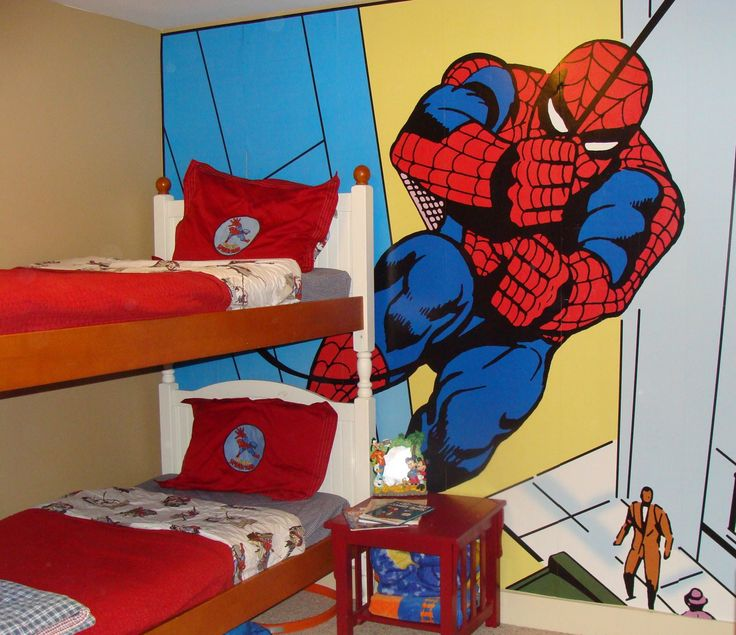 Awesome Bedroom Spiderman Bedroom For Adult James Macmillan Then Also Spiderman…