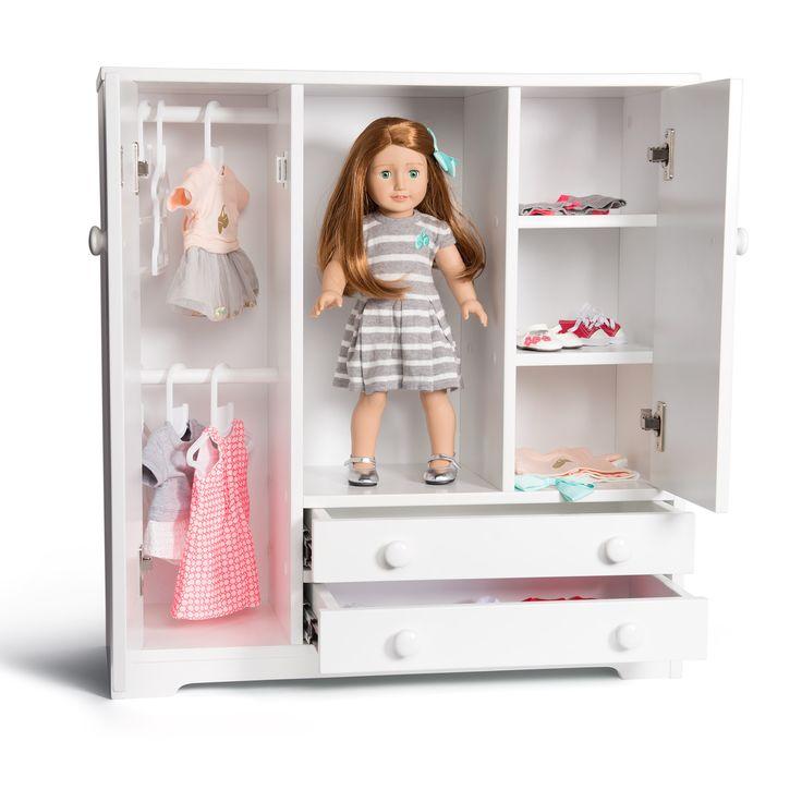 The Florrie wardrobe is perfect for storing your Florrie doll and all her clothes and accessories. www.florrie.com.au