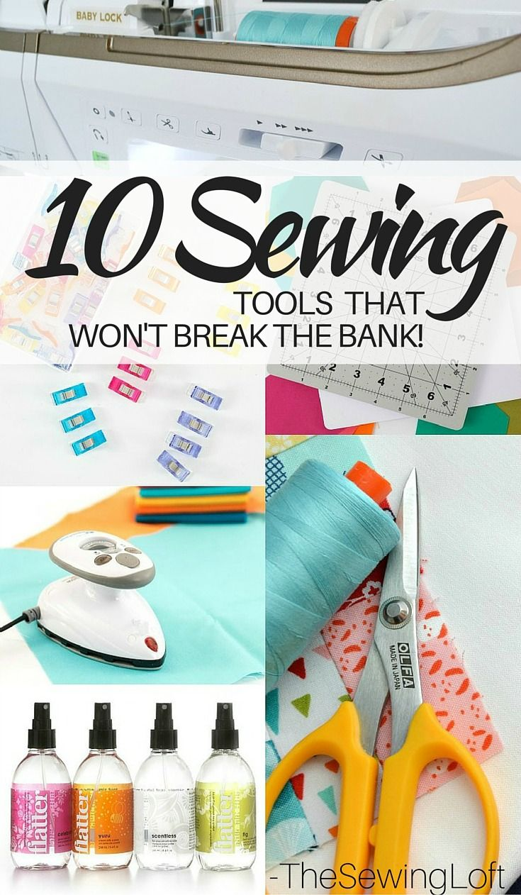 Some tools just work harder and help you speed through each project. Check out some of these must have sewing tools. The Sewing Loft