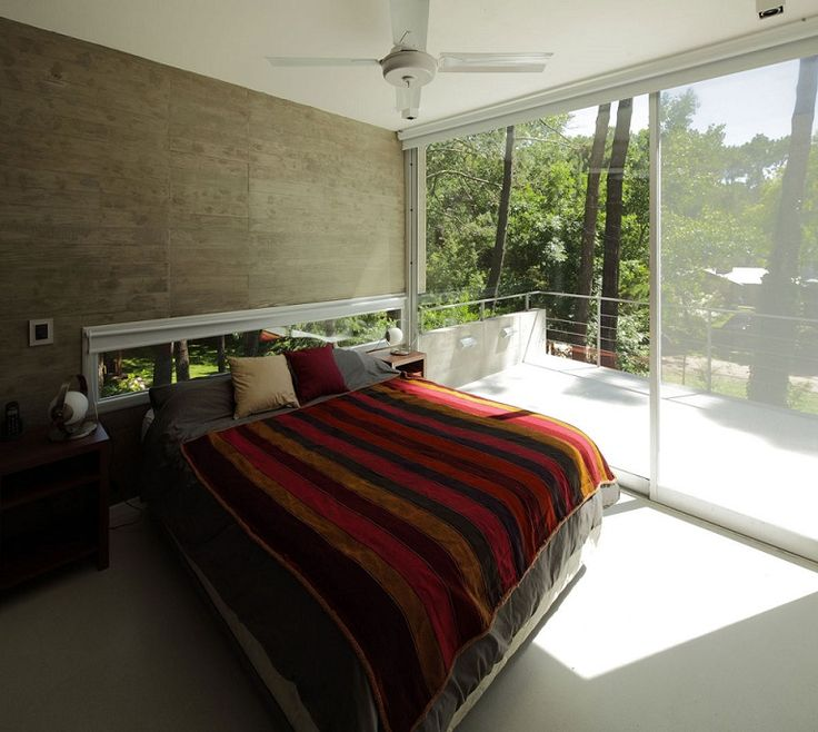 beautiful bedroom balcony and sliding glass door design id943 fresno house in carilo argentina - Bedroom Balcony Designs