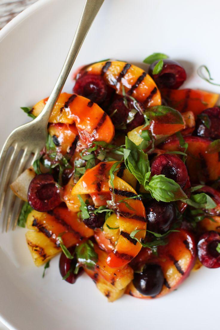 Ensalada de frutas grillada - Ebook 25 recetas de brunch saludables - www.chilemolepasta.com